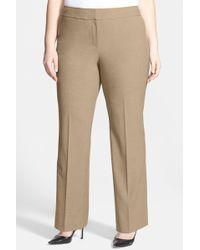 Sejour - Curvy Fit Trousers (plus Size) - Lyst