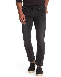 DIESEL Safado Regular Slim Straight Jeans - Black