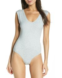 Honeydew Intimates Shay Scoop Neck Bodysuit - Blue