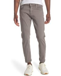 7 For All Mankind Paxtyn Skinny Fit Stretch Twill Performance Pants - Gray