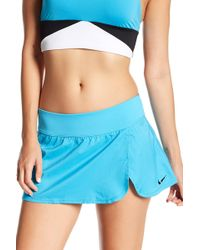 3918d282851 Lyst - Nike Core Swim Skirt in Black