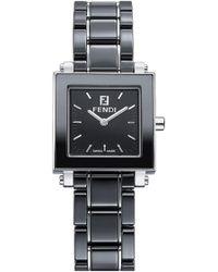 Fendi - Women's Ceramic Square Case Watch, 25mm - Lyst