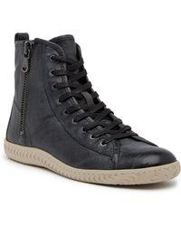 John Varvatos - Star High Top Sneaker - Lyst