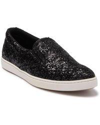 Tomas Maier Scarpa Glitter Slip-on Sneaker - Black