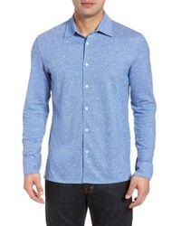 Luciano Barbera - Knit Shirt - Lyst
