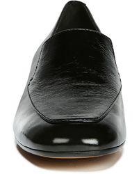 Vince Fauna Block Heel Flat - Black