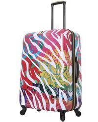 Halina Bee Sturgis Serengeti Reflections Hard Shell Luggage - Multicolour