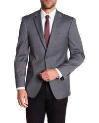 Tommy Hilfiger - Adams Mini Grid Notch Collar Stretch Fit Jacket - Lyst