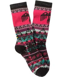 Smartwool Thunderbird Wool Blend Crew Socks - Multicolour