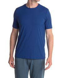 Tommy John Air Mesh Performance Crew Neck T-shirt - Blue