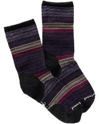 Smartwool Horizon Line Wool Blend Crew Socks - Multicolour