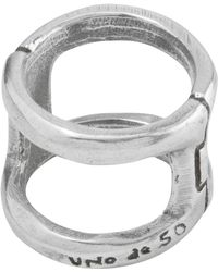 Uno De 50 - Bis-a-two Ring - Lyst