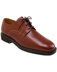 Mephisto Galasso Square Toe Lace Up Derby - Brown