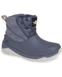 The North Face Yukiona Waterproof Ankle Boot - Blue