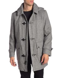 Pendleton - Knob Hill Wool Blend Removable Hood Coat - Lyst