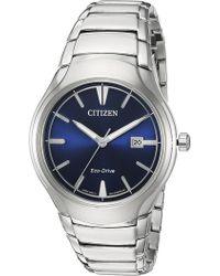 Citizen - Men's Eco-drive Analog Quartz Bracelet Watch, 40mm - Lyst