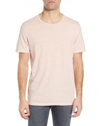 AG Jeans Ramsey Crew Neck T-shirt - Pink