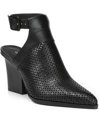 Donald J Pliner - Varen Heel Cutout Perforated Bootie - Lyst