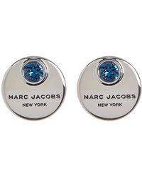 Marc By Marc Jacobs - Logo Coin Stud Earrings - Lyst