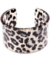 Zenzii - Leopard Preppy & Polished Cuff - Lyst