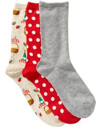 Hot Sox - Picnic - Pack Of 3 - Lyst