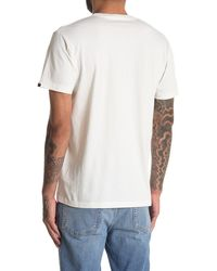Deus Ex Machina Geo Kamo All Caps T-shirt - White