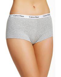 Calvin Klein - Logo Boyshort Underwear - Lyst