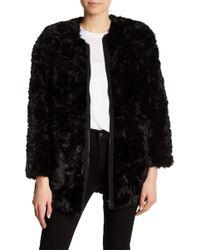 Cheap Monday - Ostent Faux Fur Coat - Lyst