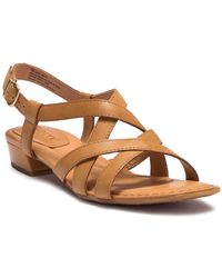 Born - Bouvet Easy Leather Sandal - Lyst