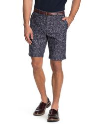 Ted Baker Printed Shorts - Blue