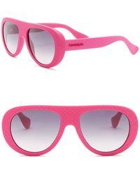 Havaianas - Rio 54mm Shield Sunglasses - Lyst