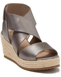 Eileen Fisher Willow Wedge Platform Sandal - Multicolor