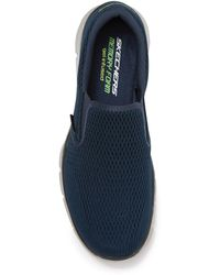 Skechers Equalizer Double Play Slip-on Sneaker - Blue