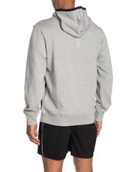 Ovadia And Sons Climate Knit Hoodie - Gray
