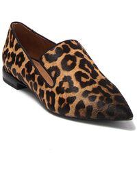Franco Sarto Topaz Genuine Calf Hair Pointed Toe Loafer - Multicolor