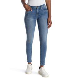 FRAME Le Skinny De Jeanne Sand Seam Jeans - Blue