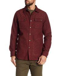 Jeremiah - Patton Embroidered Neppy Shirt Jacket - Lyst