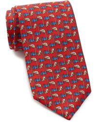 Thomas Pink - Monkey Print Silk Tie - Lyst