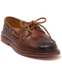 Sperry Top-Sider Gold Cup Authentic Original 2-eye Boat Shoe - Brown