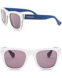 Havaianas - Brasil 52mm Square Sunglasses - Lyst
