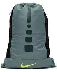 Lyst - Nike Hoops Elite Gym Sack in Black for Men 67912aa766155
