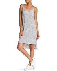 Olive & Oak - Strappy Split Side Tank Dress - Lyst