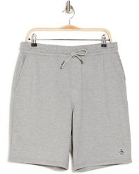 Original Penguin Drawstring Shorts - Gray