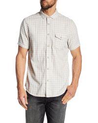 Jeremiah - Graham Reversible Melange Shirt - Lyst