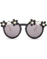 cb6e7a508f Cara - Women s Daisy Round Sunglasses - Lyst