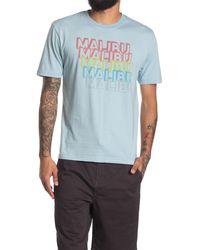 American Needle Vintage Fade Malibu T-shirt - Blue