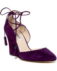 L.K.Bennett | Leticia Wedge D'orsay Pump | Lyst