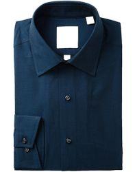 Ben Sherman - Tonic Poplin Florentine Tailored Slim Fit Dress Shirt - Lyst
