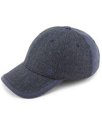 Original Penguin Herringbone Baseball Cap - Blue