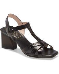 Hispanitas Praga T-strap Sandal - Black
